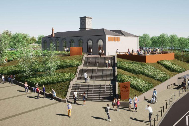 Public consultation launched for Darlington Railway Heritage Quarter