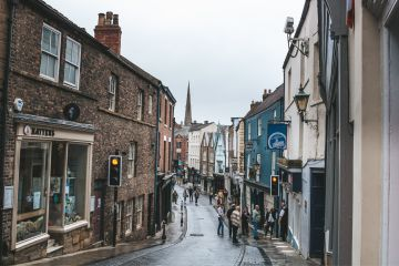 Ageing communities on the high street